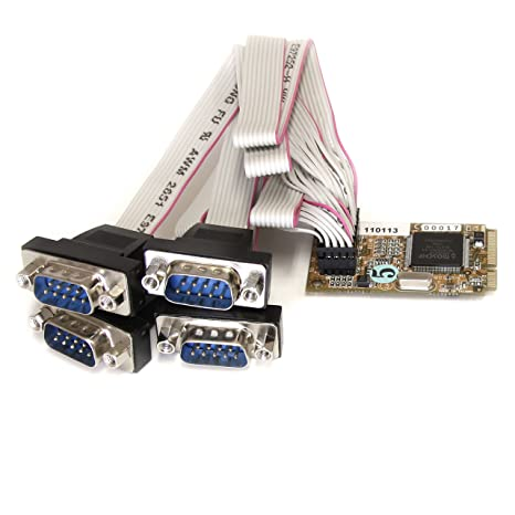 Image result for PCI EXPRESS 4 PORT SERIAL CARD amazon