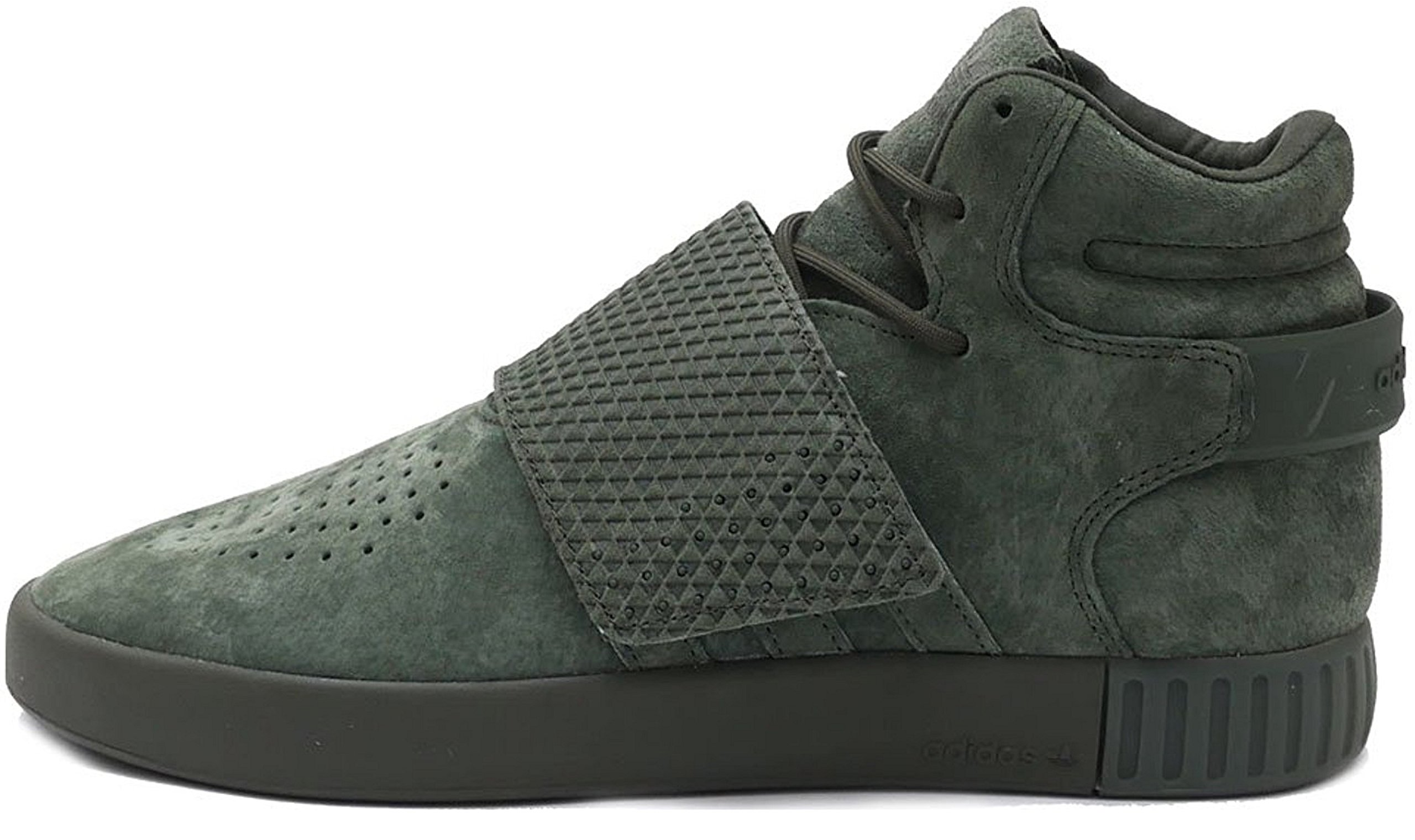 new style 3824f d4103 adidas Originals Men's Shoes | Tubular Invader Strap Fashion Sneakers,Night  Cargo/Night Cargo/Night Cargo, (9.5 M US)