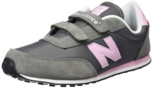 Grigio Grau DPI GREY/PINK New Balance 410 Hook and Loop Sneaker
