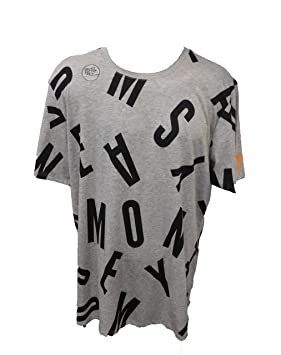 Nike Kevin Durant Easy Money AOP tee - Camiseta Manga Corta para Hombre, Color Gris