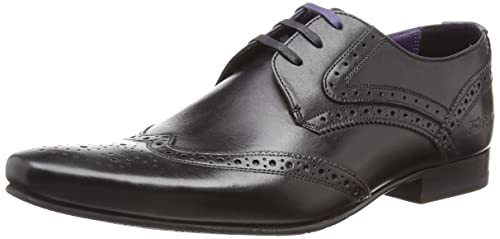 59a229e316ef Ted Baker Mens Hann 2 Derby Brogue Shoes  Amazon.co.uk  Shoes   Bags