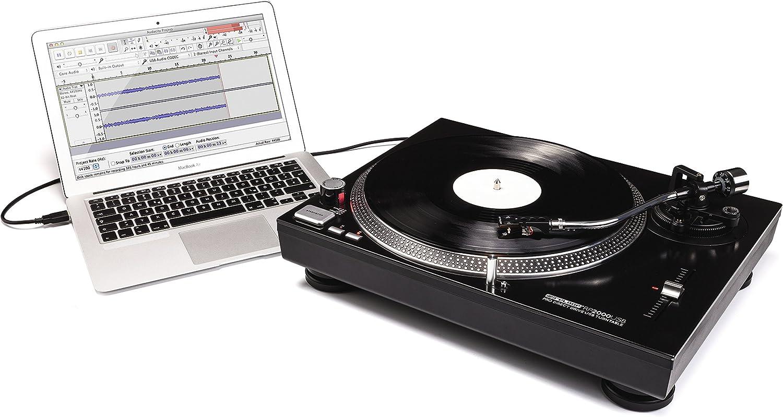 Tocadiscos DJ Reloop RP-1000M - Con motor de transmisión por ...