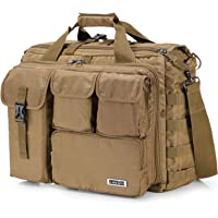 "Lifewit 17"" Men's Military Laptop Messenger Bag Multifunction Tactical Briefcase Computer Shoulder Handbags"