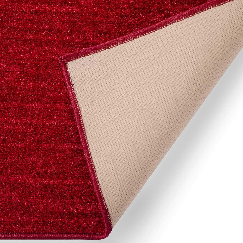 Casa pura Läufer mit Zeitloser Musterung   grau     Qualitätsprodukt aus Deutschland   GUT Siegel   kombinierbar mit Stufenmatten   3 Breiten und 27 Längen (100x375cm) B013WVY8GU Lufer 41744d