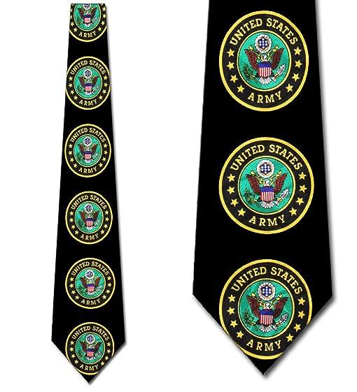 Amazon army ties army logo neckties military tie mens necktie army ties army logo neckties military tie mens necktie ccuart Images