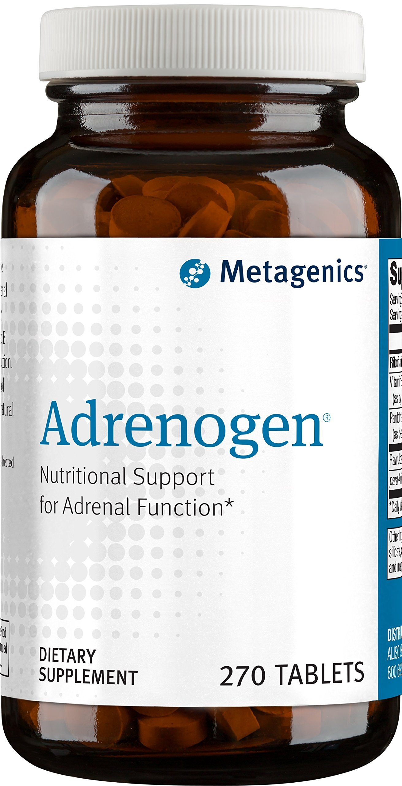 Metagenics Adrenogen Tablets, 270 Count