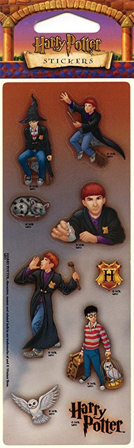 Harry Potter pegatinas con Harry & Ron Weasley & More