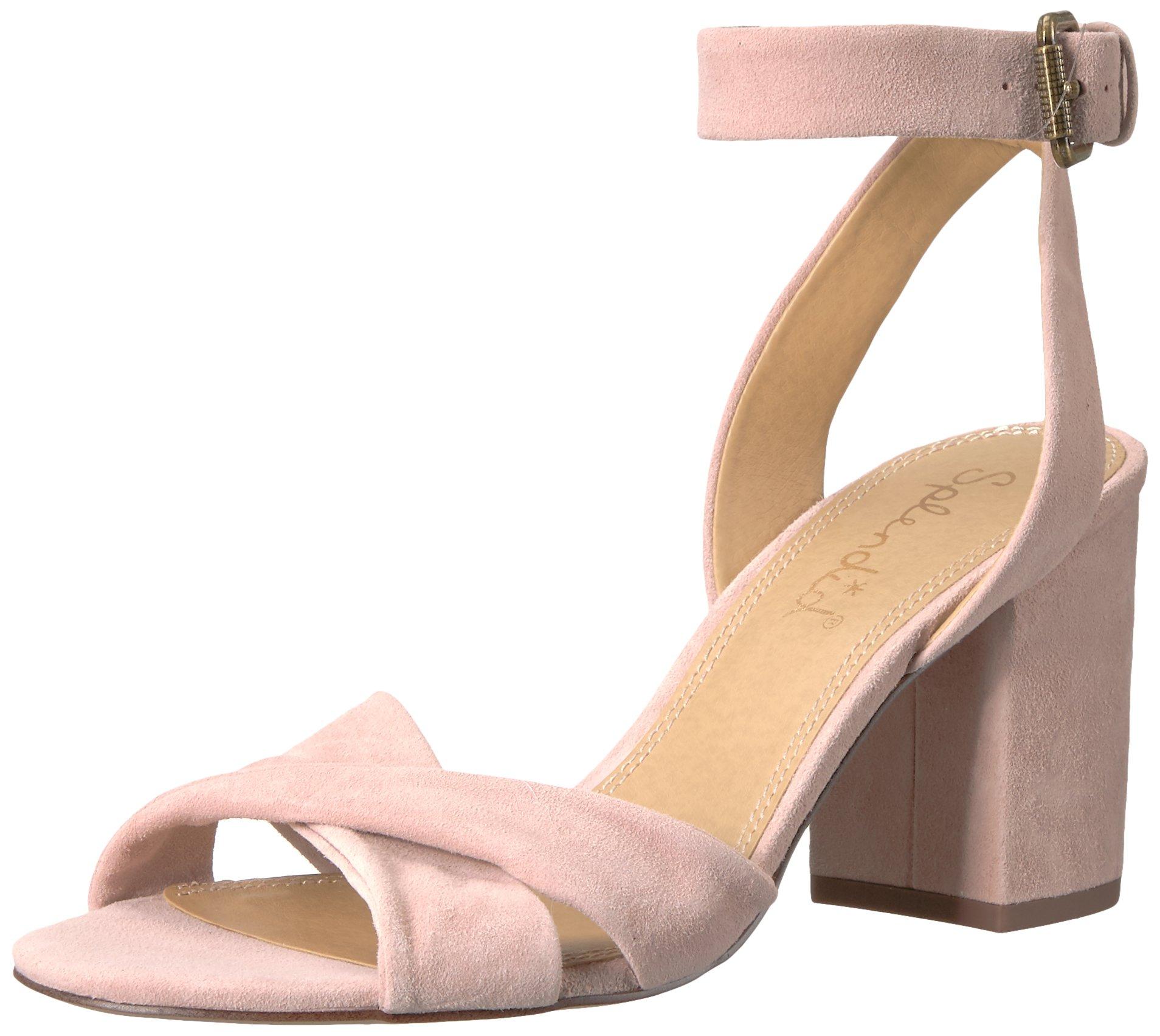 Splendid Women's Fairy Heeled Sandal, Pink, 7 Medium US