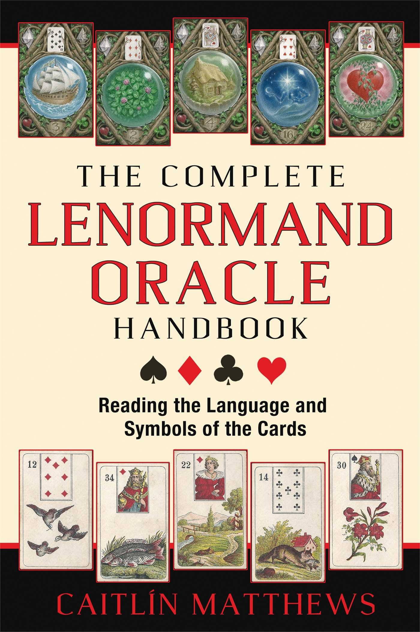 The complete lenormand oracle handbook reading the language and the complete lenormand oracle handbook reading the language and symbols of the cards caitln matthews 9781620553251 amazon books biocorpaavc Choice Image