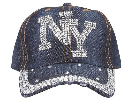 Top Head New York NY - Gorra de béisbol con Tachuelas: Amazon.es: Ropa y accesorios