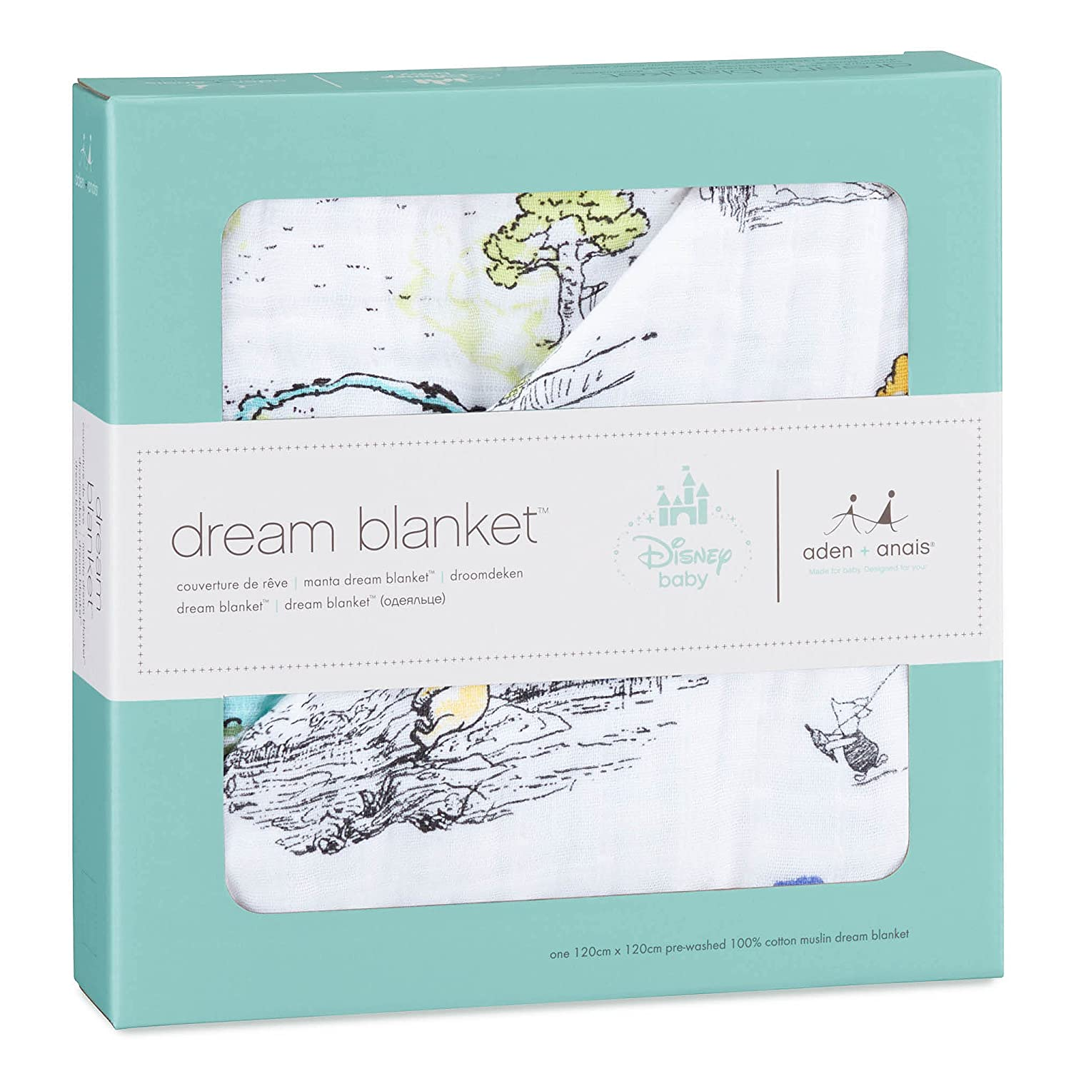 1f27f7bda908 aden + anais Disney baby dream blanket