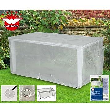 Schutzhülle Gartentisch 220x100.Schutzhülle Für Rechteckigen Gartentisch Ca 220 X 100 75cm