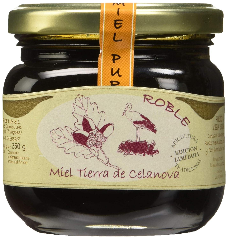 Jalea de Luz Miel Cruda Pura de Roble - 250 gr.: Amazon.es ...