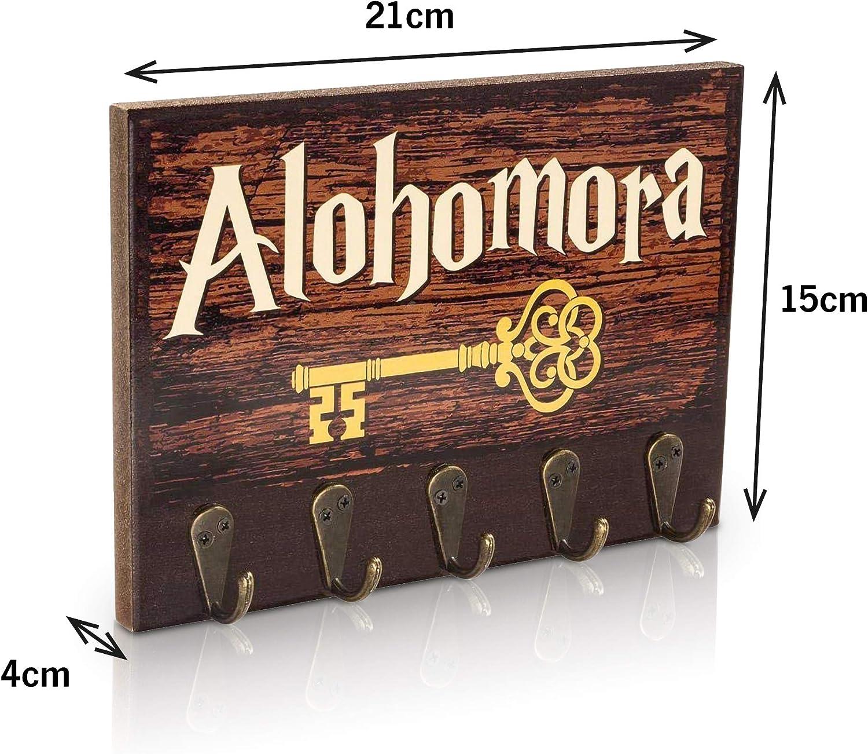getDigital Colgador para Llaves Alohomora | Organizador Cuelga Llaves Pared con 5 Ganchos de Metal | 21x15cm: Amazon.es: Hogar