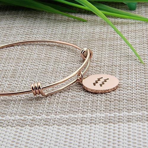 Zodiac Sign Taurus Charm Club Good Jewelry For Women Men Summer Star Gift In   Fit Bracelet