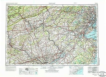 Fantastic Amazon Com Yellowmaps Newark Nj Topo Map 1 250000 Scale Download Free Architecture Designs Scobabritishbridgeorg