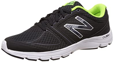 New Balance Men\u0027s M575V2 Running Shoe, Black/Green, 8 4E US