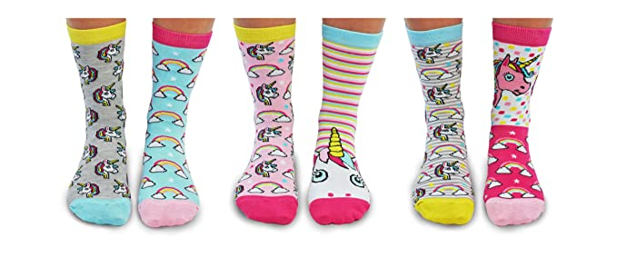 United Oddsocks - Womens Socks - Be a Unicorn