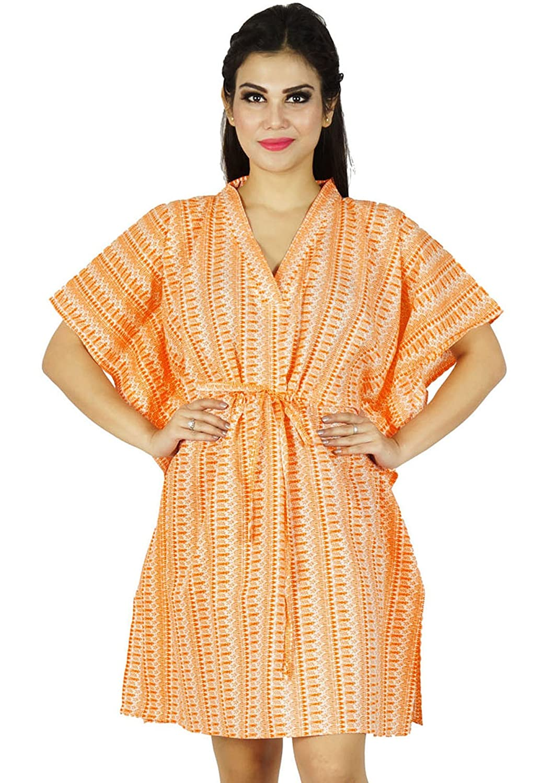 Neue Indische Kaftan Boho Hippie Plus Size Frauen Kleiden Kaftan Strand Vertuschen