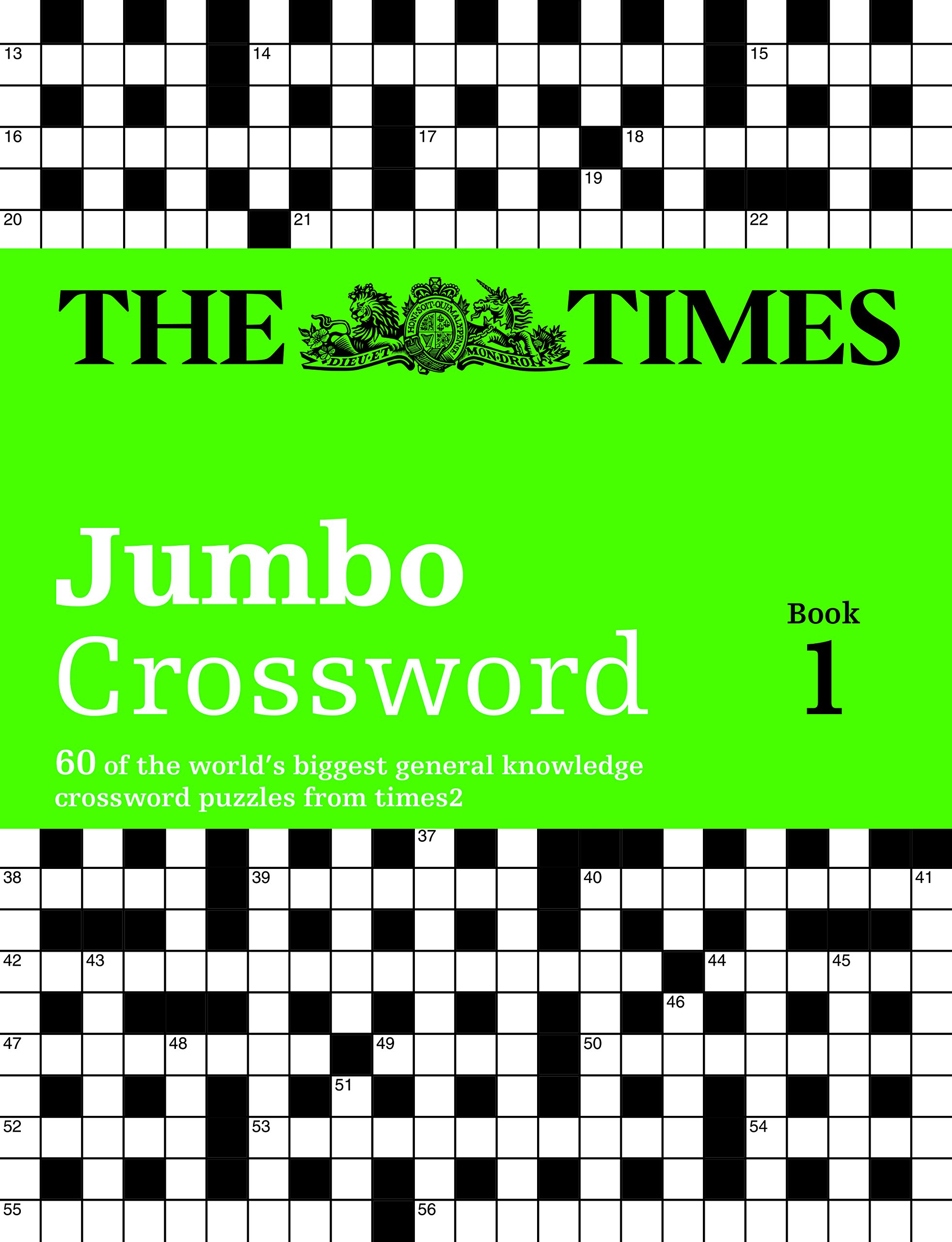 The Times 2 Jumbo Crossword Gift Set Amazoncouk Mind Games 9780007953141 Books