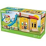 BRIO 33943 - Village Schule, bunt
