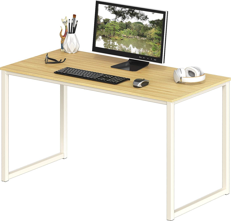SHW Home Office 40-Inch Computer Desk, Oak