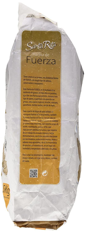 Harina sta.rita fuerza 5k: Amazon.es: Alimentación y bebidas