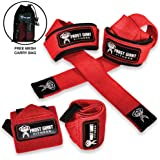 Wrist Wraps & Lifting Straps - Combo Set for...