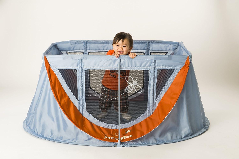 Parentlab JourneyBee Portable Crib, Black/Silver by Parentlab ...