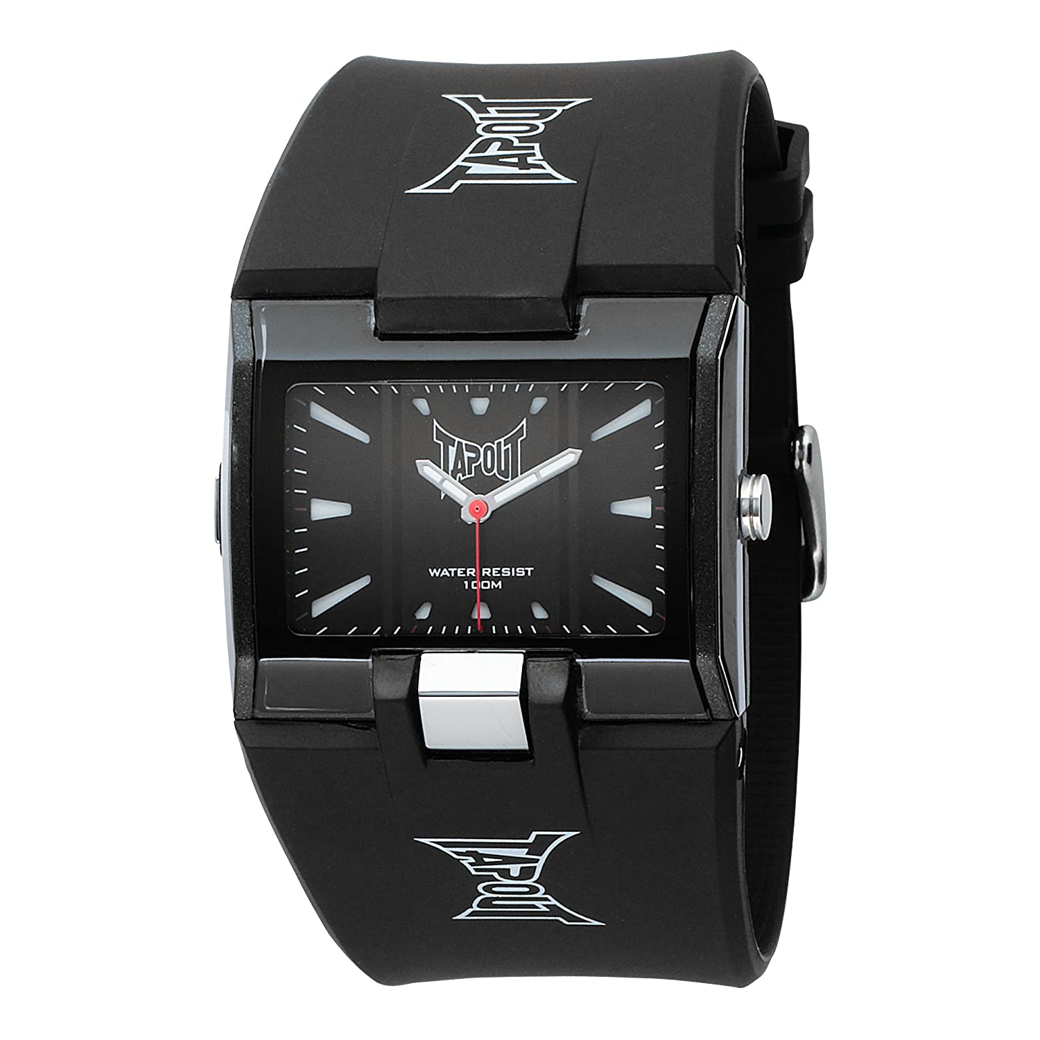 TapouT Men s HR-BK Heroes Analogue Sports Watch