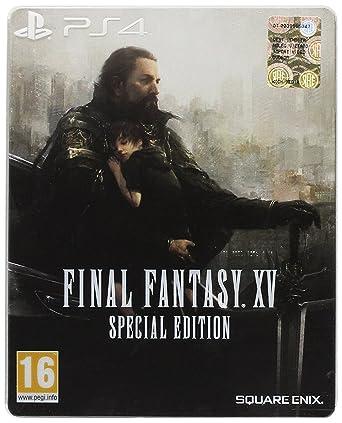 Final Fantasy XV Special Steelbook Edition PS4