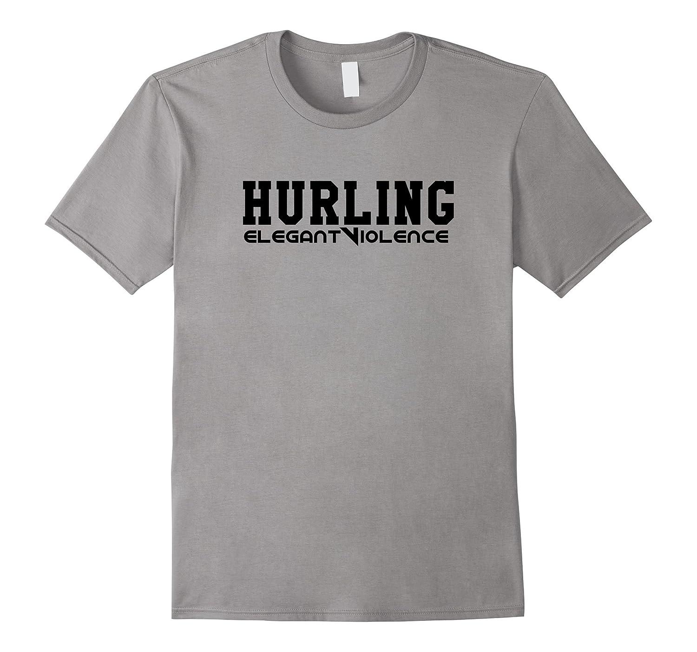 Hurling Elegant Violence T-Shirt Vintage Sports Tee-Vaci