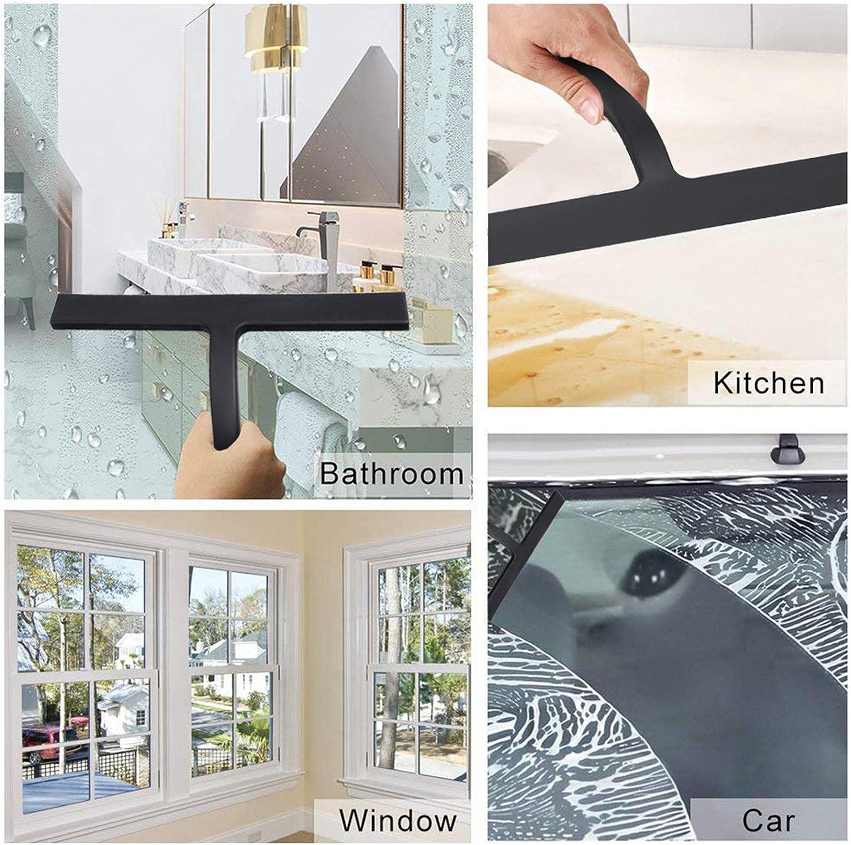 Autoklinge Reinigungsseife Kanza Glasscheibenwischer f/ür Fenster Spiegel f/ür Badezimmer Duschabzieher