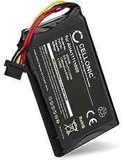 Cellonic® Batteria Premium Compatibile con Tomtom 4FL50 4FL60 Go 5000 Go 5100 Go 6000 Go 6100 PRO Truck 5250, AHA11111008,VFAD (1100mAh) Batterie Ricambio accu Sostituzione