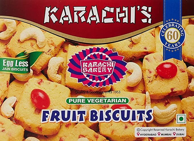 Karachi Bakery Fruit Biscuits 250g Pack Of 2 Amazon Grocery