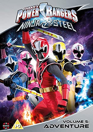 Power Rangers Ninja Steel: Adventure Volume 5 Episodes 17-20 ...