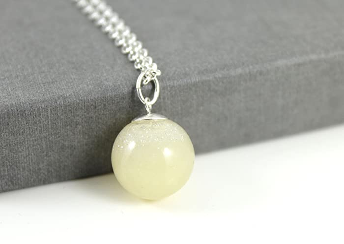 Diy sterling silver breastmilk pearl necklace kit solid milk diy sterling silver breastmilk pearl necklace kit quotsolid milk seriesquot do solutioingenieria Gallery