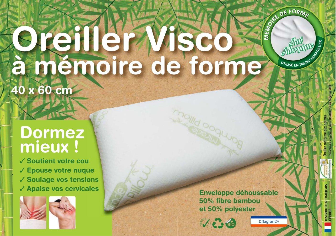 Oreiller Memoire De Forme Cervical Affordable Oreiller Ergonomique