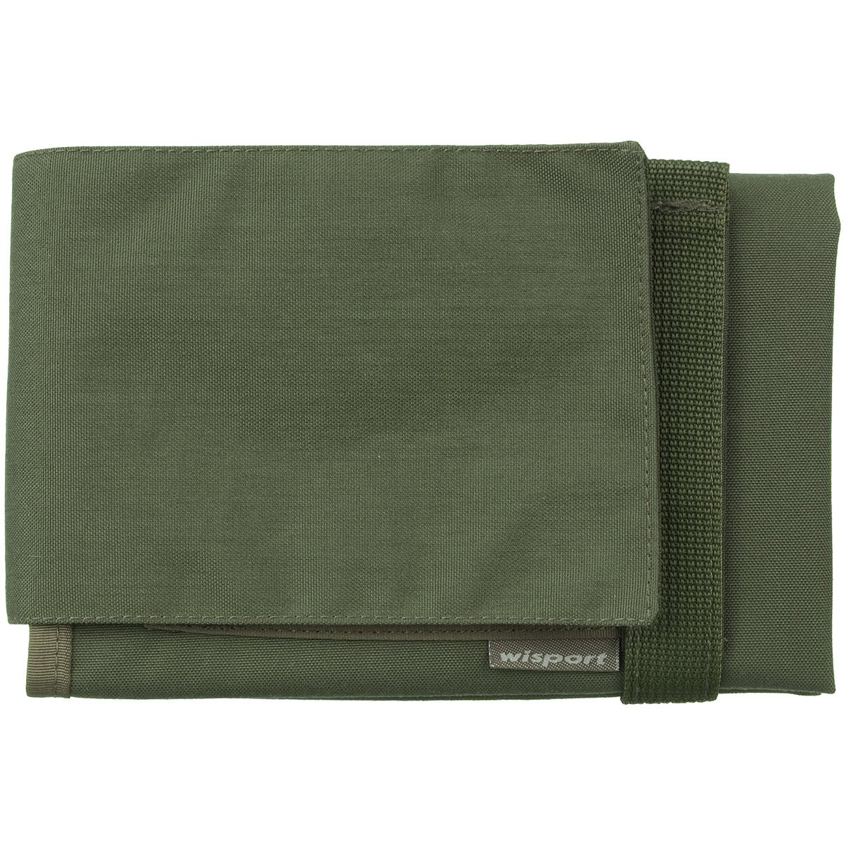 Wisport Linx Map Case Olive Green