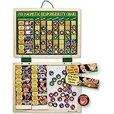 Melissa & Doug 美丽莎和豆豆 益智玩具 磁性任务完成奖励图/家务图