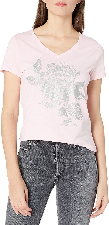 Hanes Womens Short Sleeve V-Neck T-Shirt T-Shirt