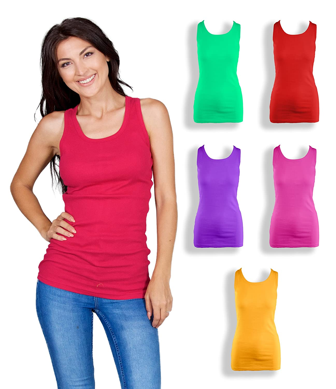 Emprella Tank Tops For Women 5...