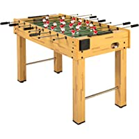 Best Choice Products 48in Competition Sized Soccer Foosball Table w/ 2 Balls, 2 Cup Holders for Home, Game Room, Arcade
