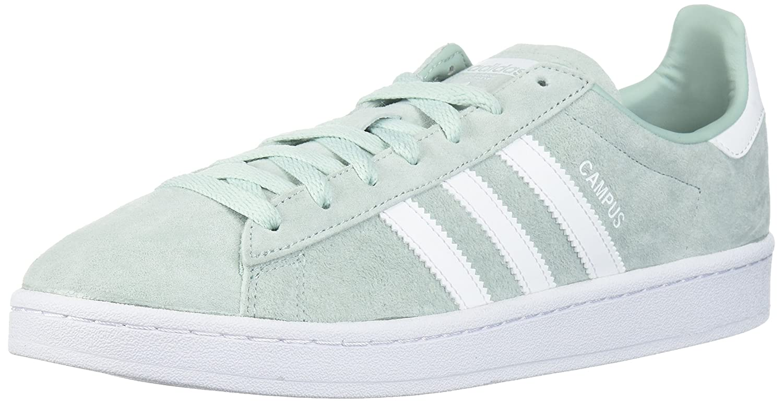 adidas Originals Men's Campus Sneakers B072BVVBJX 11.5 D(M) US|Ash Green/White/White