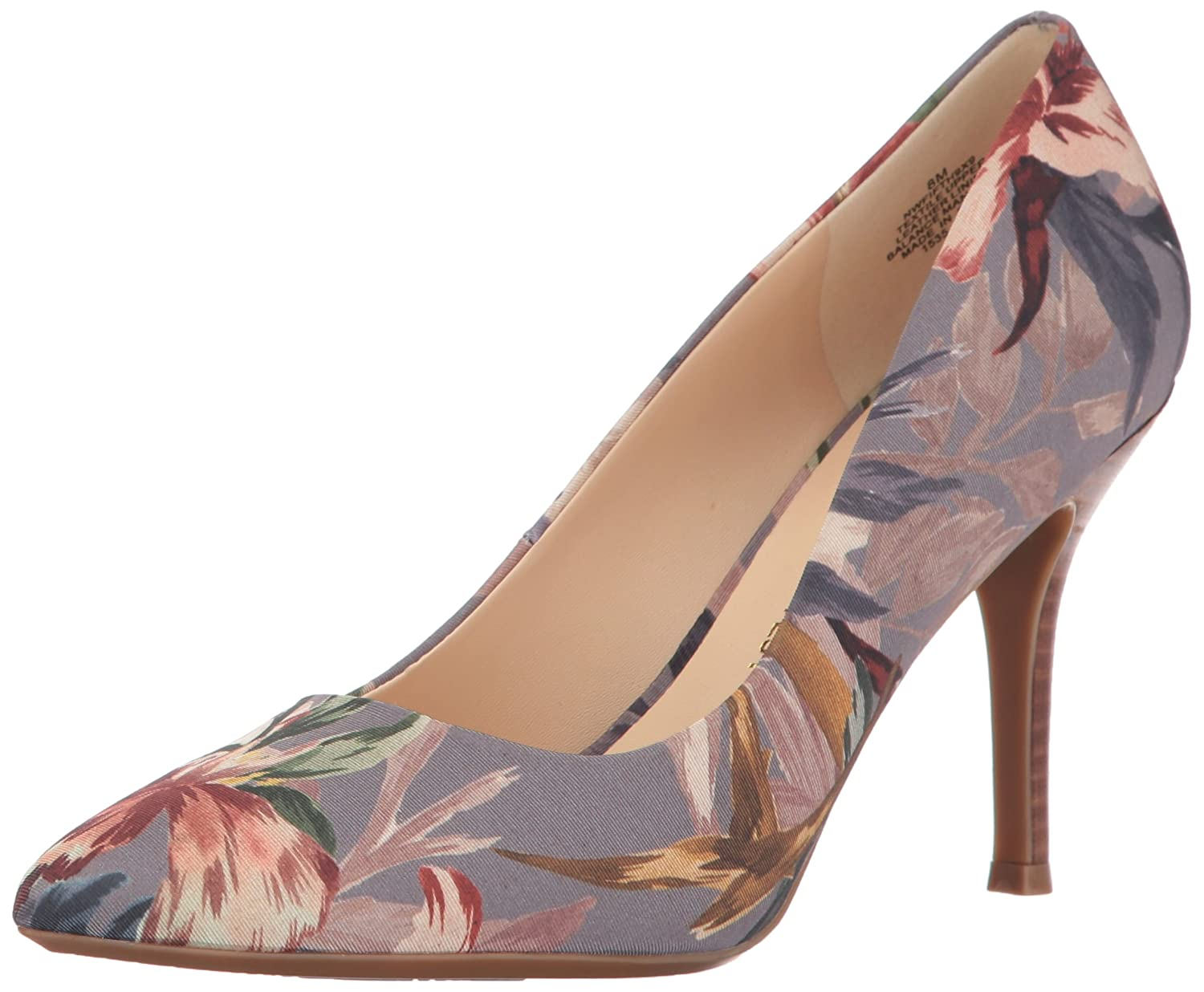 Nine West Women's FIFTH9X Fifth Pointy Toe Pumps B01N2PCLF2 8 B(M) US Taupe Multi Fabric