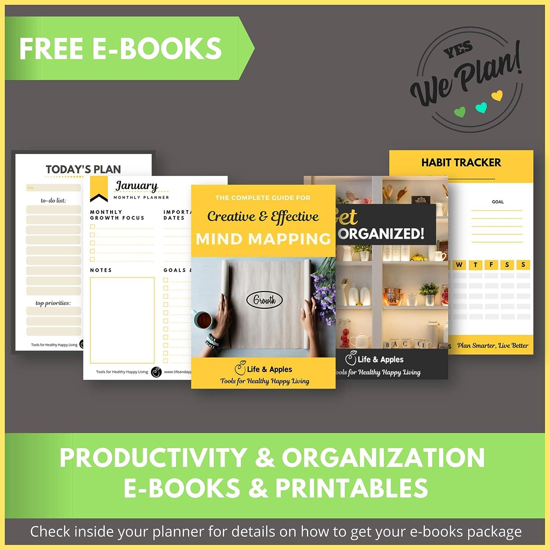 Amazon.com: The Growth Planner – Agenda diaria de objetivos ...