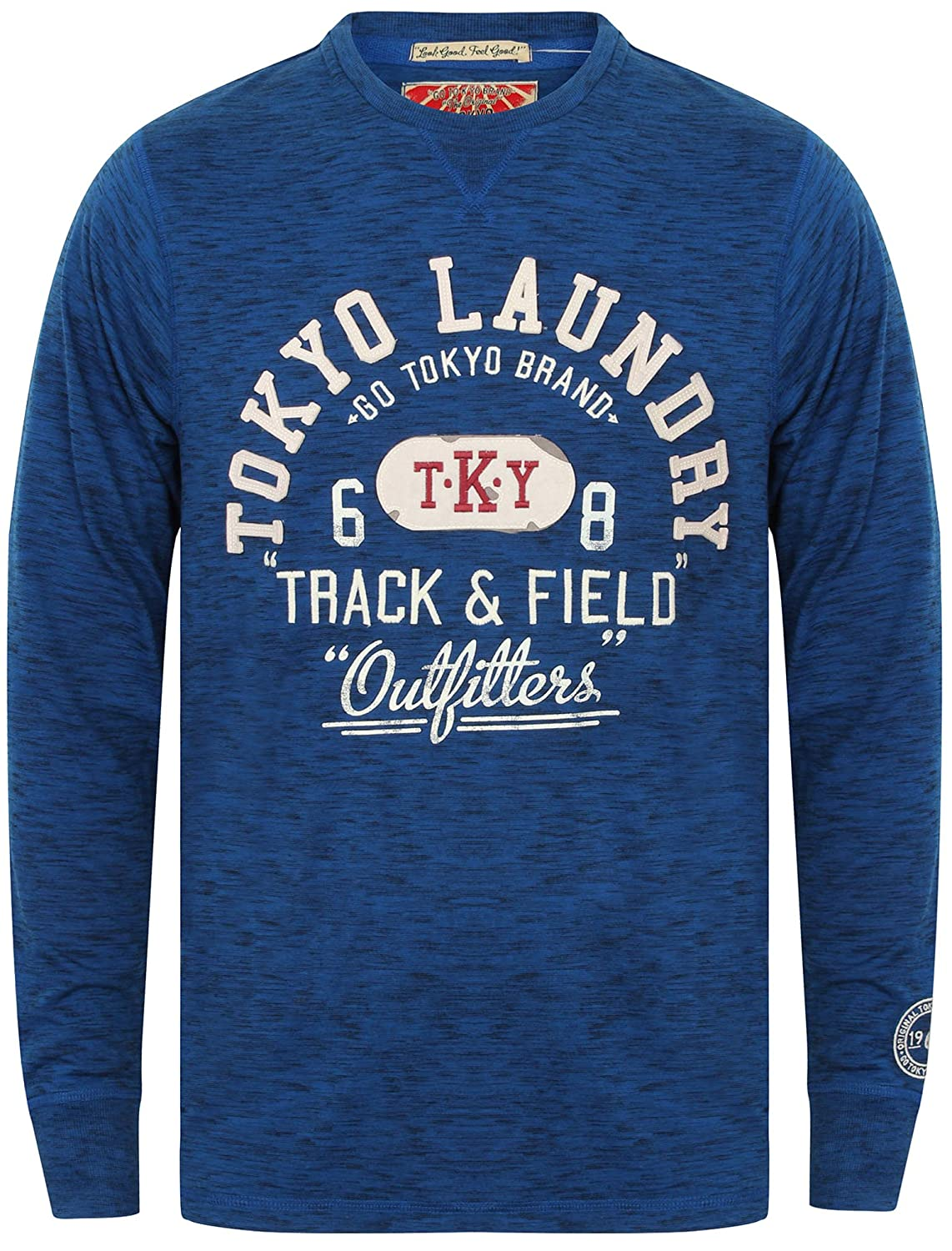 Tokyo Laundry Mens Long Sleeved T-Shirt by Harper Cove' 1U9784