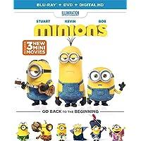 Minions Blu-ray + DVD + Digital HD