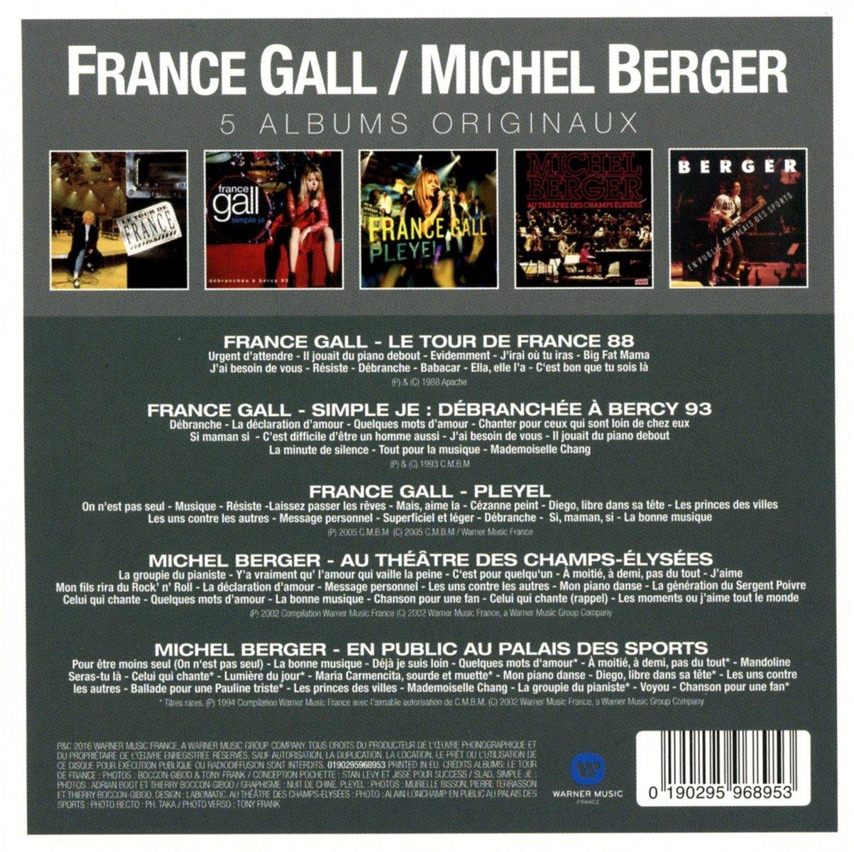 Original Album Series Michel Berger France Gall Amazones