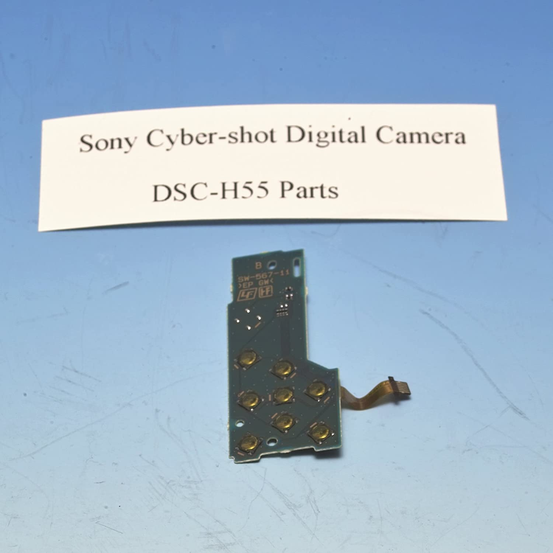 Genuine Sony Cyber Shot Dsc H55 Rear Control Board With Flex Cable Honeywell Op10hons 80